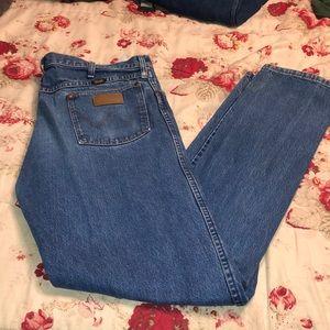 Men's Wrangler Work Jeans 38x34